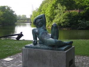 park nära Malmö Arena